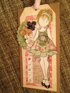 Jillydoodling: Julie Nutting doll stamps