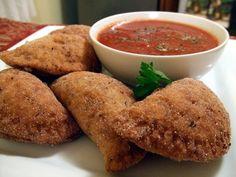 Vegan Puttanesca Panzarottis | Recipe via One Green Planet