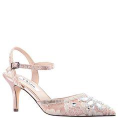 80b8618bc9 Thora-sand rose satin. Holiday Shoes ...