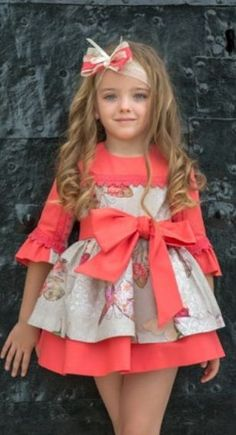 De Pe a Pa Boutique Little Girl Dresses, Girls Dresses, Flower Girl Dresses, Toddler Dress, Baby Dress, Baby Girl Fashion, Kids Fashion, Kids Girls, Cute Girls