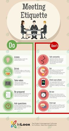 Image titled meeting etiquette rules to live by Table Manners, Good Manners, Dinning Etiquette, Etiquette Dinner, Effective Meetings, Etiquette And Manners, Job Interview Tips, Communication Skills, Leadership Development