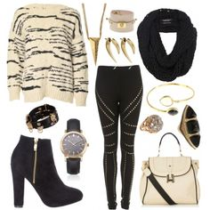 love this fall outfit styled on Fantasy Shopper
