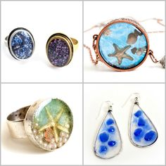 Putting treasures into resin is cool. This a solid trend in jewelry making. What are your favorite things to put into resin? Need inspiration? Here are some jewelry pieces from the Nunn Design Gallery,...Read More