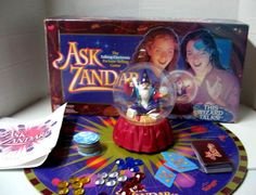 Ask Zandar Game -- I just had to have this game