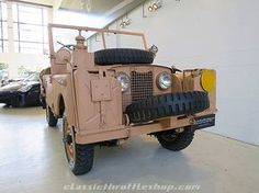 This early Land Rover S 1 is the 'desert rat' - super rare! For Sale (1954)