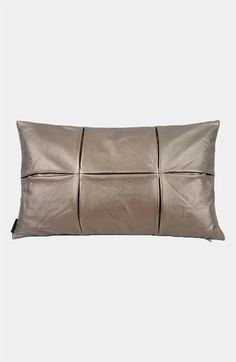 Blissliving Home 'Society' Faux Leather Pillow available at #Nordstrom