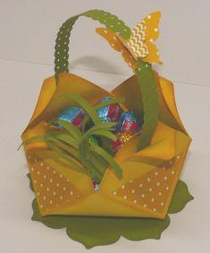 Anleitung für eine Osterdeko Goodie Bags, Gift Bags, Origami Rose, Envelope Punch Board, Scrapbooking, Gag Gifts, Stamping Up, Worms, Goodies