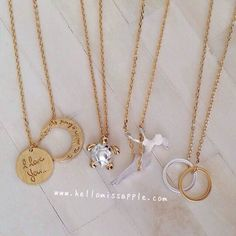 Which one would you wear today? Dainty necklaces from @hellomissapple. Shop now at hellomissapple.com for more awesome and dainty jewelry pieces Tag your friends and don't forget to follow @hellomissapple @hellomissapple @hellomissapple @hellomissapple #Padgram