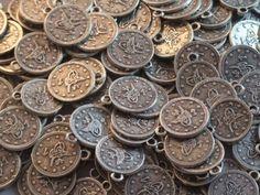 The Turkish Emporium - Monete in stile antico da cucire su abiti tribali, per la danza del ventre, Banjara, Afghani, Kuchi. Stile 3