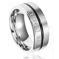 Cerruti wedding rings