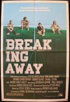 BREAKING AWAY  Original U.S. 1 Sheet Movie by ScreenlandMoviepaper