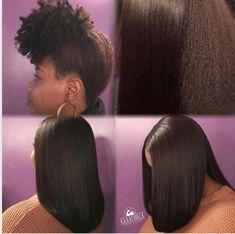 Pressed Natural Hair, Natural Hair Tips, Natural Baby, Straight Hairstyles, Cool Hairstyles, Woman Hairstyles, Natural Hairstyles, Afro, Pelo Natural