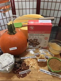 Nothing says fall like pumpkin everything but so many recipes turn this nutrient dense and low calorie power food into a high calorie unhealthy mess.  This recipe is lightly sweet but full of the warm pumpkin spices you would expect. Pumpkin and choc...
