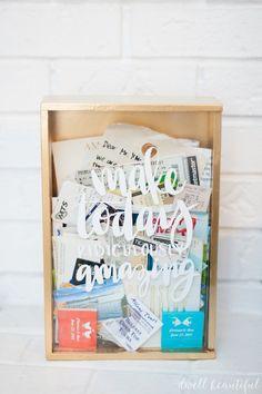 Craft Redux - Ticket Memory Box - Dwell Beautiful