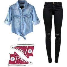 Comfy by hipster-girly-forever on Polyvore featuring polyvore, fashion, style, Chicnova Fashion, J Brand and Converse