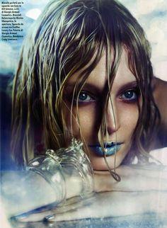 Melissa Tammerijn by Michelangelo di Battista for Vogue Italia May 2012  #fashion #makeup #beauty