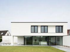 minimalistische vrijstaande villa  | ABSBouwteam | http://www.absbouwteam.be