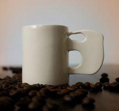 Mug Elephant Coffee Mug Ceramic Cup Pottery Mug by MMceramicdesign