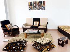 es empreintes africaines un salon made by me #bogolan #homeswethome #maisondafrique #macase #mamaison #interieur #interiordesign