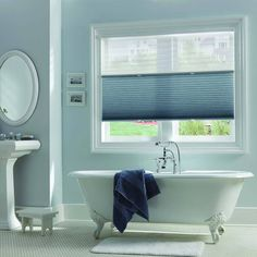 Blinds brand cordless top down bottom up cellular shades in cool bathroom blinds you would need to choose one that can withstand high humidity levels solutioingenieria Images