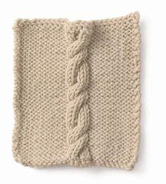 Stitchfinder: Knitting: Cable: Cruller