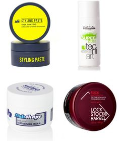 Men's Recommended Hair Styling Products - Short Choppy/Messy Hair