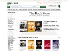 barnesandnoble.com category page