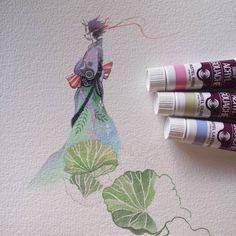 https://flic.kr/p/DoYi1T | Damn... Turner Acryl gouache paints are brighter than…