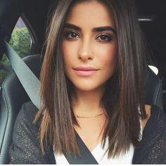 cortes de cabello bob para mujer medio
