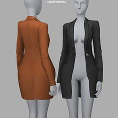 Gisele Coat Accessory by CandySims Sims 4 Mods Clothes, Sims 4 Clothing, Sims Mods, Sims 4 Teen, Sims 4 Toddler, Sims 4 Cc Packs, Sims 4 Mm Cc, Maxis, Pelo Sims