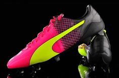 Buty piłkarskie Puma evoSpeed 1.5 FG #puma #football #soccer #sports #pilkanozna #futbol
