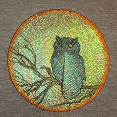 MOON SHADOWS OWL