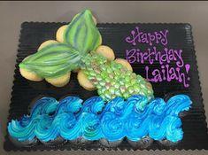 Love Cupcakes, Birthday Cupcakes, Ladybug Cupcakes, Kitty Cupcakes, Snowman Cupcakes, Giant Cupcakes, Pull Apart Cupcake Cake, Pull Apart Cake, Mermaid Cupcake Cake