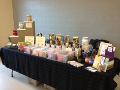 My full display at a Spring sale in Bewdley, Ontario. (Amy Urquhart, Independent Certified Consultant.)