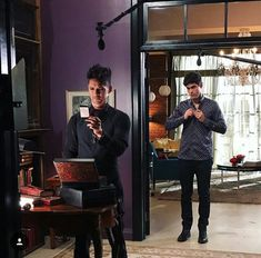 Day 16 of behind the scenes of Shadowhunters with Malec!