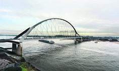 Nijmegen, nieuwe waalbrug