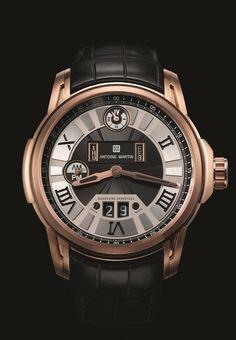 Antoine Martin Perpetual Calendar QP01 Pink Gold QP01.700.1 on Watch Agora