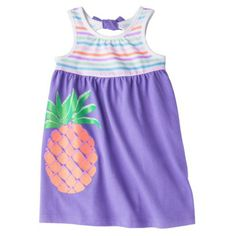Circo® Infant Toddler Girls' Back Bow Tank Dress -