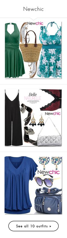 """Newchic"" by fatimka-becirovic ❤ liked on Polyvore featuring newchic and WALL"