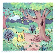 pink pokemon by Naaraskettu on DeviantArt Leprechaun, Pokemon Special, Anime Animals, Cute Pokemon, Catch Em All, Manga, Cute Drawings, Cool Artwork, Game Art