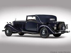 Gurney Nutting Rolls-Royce Phantom II Continental Sedanca Coupe 1933