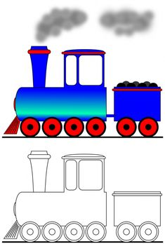 If your child could take a trip on a train, where would they go? Easy Drawings For Kids, Drawing For Kids, Art For Kids, Teacher Classroom Decorations, Train Drawing, Coloring Sheets For Kids, Felt Quiet Books, Learn Art, Boy Quilts