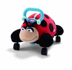 Little Tikes Pillow Racers - Lady Bug - Little Tikes has taken the best parts of riding toys, stuffed animals, and pillows and combined them in one toy--The Pillow Racer. The racer features a soft pillow lady bug that your toddler can sit on and ri Toddler Toys, Kids Toys, Black Friday Toy Deals, Sports Games For Kids, Little Tikes, Ride On Toys, Birthday Gifts For Kids, Christmas Toys, Toddler Christmas