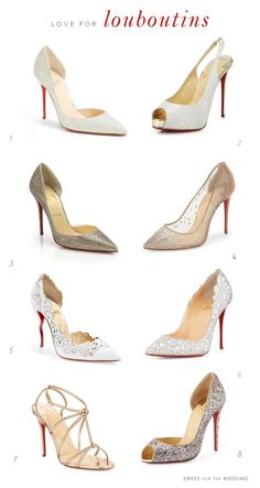 Designer Shoes for Weddings : Favorites by Christian Louboutin