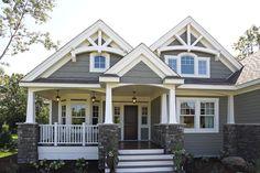 Best Ideas house exterior design dream homes craftsman style Future House, My House, House Bath, Cottage House, Cottage Home Plans, Cottage Style Homes, Ideal House, Awesome House, Design Exterior