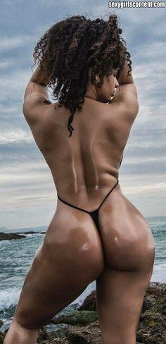 7 hot think ebony girl fat booty topless htg25