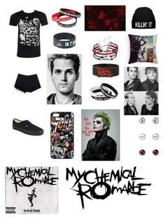 """""""My Chemical Romance...."""" by jessicacalumhood1253 ❤ liked on Polyvore featuring Vans"""