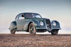 1939 Alfa-Romeo 6C 2500 - I grin just thinking about the folks who ran the roads in this one.