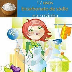 Usos do Bicarbonato de sódio na cozinha        O bicarbonato de sódio tem muita utilidade na limpeza doméstica, além de ser ecologicament...