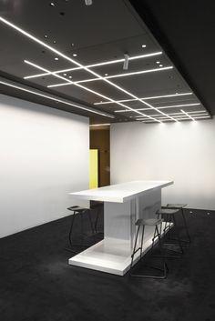 Ceiling lights - Techo técnico iluminado Kreon